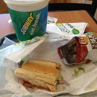 Photo taken at SUBWAY by ANDREW on 4/26/2013