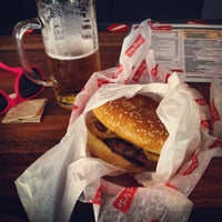 Photo taken at Tasty Burger by Maureen H. on 9/18/2012