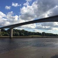 Photo taken at Redheugh Bridge by Steve R. on 8/15/2017