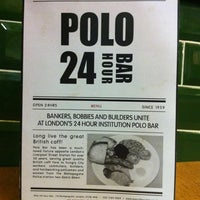 Photo taken at Polo Bar by Steve R. on 4/18/2013