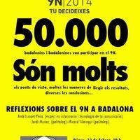 Photo taken at Federació d'Associacions de Veïns de Badalona (FAVB) by Josep Maria L. on 2/12/2015
