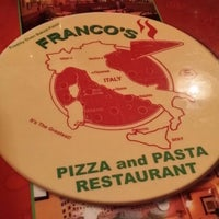 Photo taken at Franco's Pizza & Pasta by Ricky S. on 7/19/2014