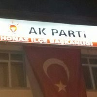 Photo taken at Turgut Devecioğlu Seçim Bürosu by Onur M. on 11/1/2015