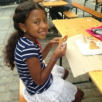 Photo taken at Milk Truck Grilled Cheese at South Street Seaport by Walter L. on 8/31/2013