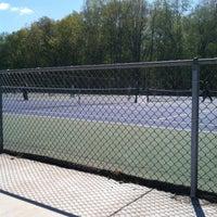 Photo taken at Dewitt Tennis courts by cammie on 5/13/2013