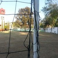 """Photo taken at Club de Fútbol """"Trinidad de las Huertas"""" by Rafa L. on 3/10/2013"""