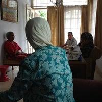 Photo taken at Kedaung hijau ciputat by Ariza on 2/17/2013