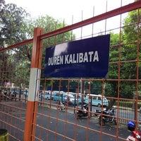 Photo taken at Stasiun Duren Kalibata by Syarif A. on 2/2/2015
