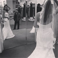 Photo taken at David's Bridal by Nadja M. on 3/14/2013