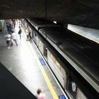 Foto tirada no(a) Estação Praça da Árvore (Metrô) por Thatiana R. em 1/18/2013