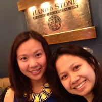 Photo taken at Hand & Stone Massage and Facial Spa by Beiley K. on 3/11/2014