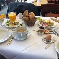 Photo taken at Cafe Klinge by Christine H. on 3/3/2018