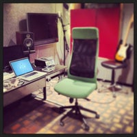 Photo taken at bass hit studios by Chris C. on 5/24/2013