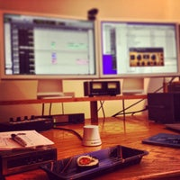 Photo taken at bass hit studios by Chris C. on 1/22/2013