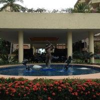 Photo taken at CasaMagna Marriott Puerto Vallarta Resort & Spa by Paul S. on 1/20/2013