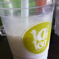Photo taken at TaiTea Bubble Tea & Salads by Lucy on 3/4/2014