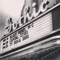 Photo taken at The Gothic Theatre by ultra5280 on 5/21/2013