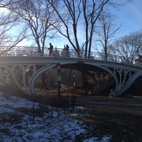 Photo taken at Jacqueline Kennedy Onassis Reservoir by Kelsey L. on 1/27/2013