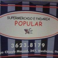 Photo taken at Supermercado Popular by Giovany F. on 12/27/2014