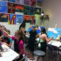 Photo taken at Painting with a Twist by Cindy M. on 6/1/2013