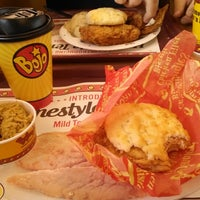Photo taken at Bojangles' Famous Chicken 'n Biscuits by Anthony S. on 5/16/2014