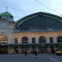 Photo taken at Basel SBB Railway Station by Christian G. on 11/3/2012