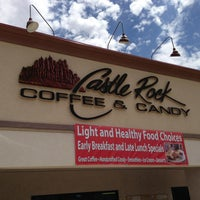 Photo taken at Castle Rock Coffee & Candy by Christian G. on 7/26/2013