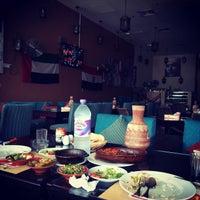 Photo taken at el3ezba Restaurant مطعم العزبة by crazy p. on 8/3/2014