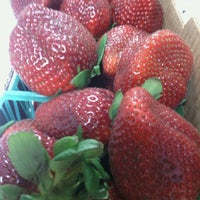 Photo taken at Thackerberry Farms Strawberry Stand by Danny M. on 2/19/2014