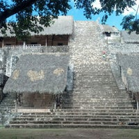 Foto tomada en Zona Arqueológica Ek Balam por Alex Z. el 11/17/2012