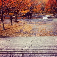 Photo taken at Fort Greene Park by Dan on 11/20/2012