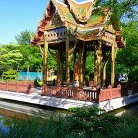 Photo taken at Japanischer Garten by Steff S. on 6/6/2013