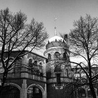 Photo taken at U Schlesisches Tor by Doro K. on 12/12/2012