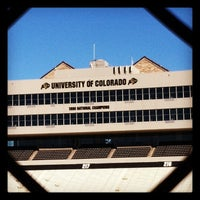 Photo taken at Folsom Field by Kris F. on 10/18/2012
