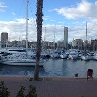 Photo taken at La Taberna Del Puerto Alicante by Fatima M. on 1/12/2013