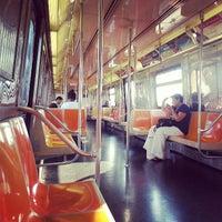 Photo taken at MTA Subway - B Train by Matthew Z. on 7/17/2013