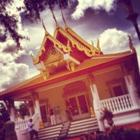 Photo taken at Wat Mongkolratanaram Buddhist Temple by Angela W. on 3/10/2013