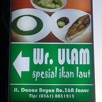 Photo taken at Wr. Ulam by  dharma on 7/10/2014