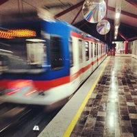 Photo taken at Metrorrey (Estación San Nicolás) by Juan M. P. on 3/20/2013