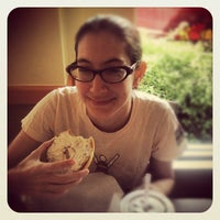 Photo taken at Einstein Bros Bagels by Mauricio P. on 10/6/2012