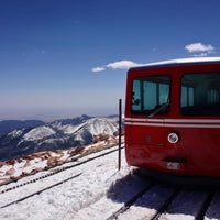 Photo taken at Pikes Peak Cog Railway by Dhanesh G. on 4/29/2013