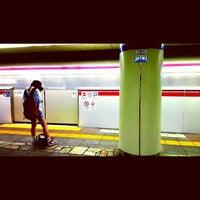 Photo taken at Oedo Line Higashi-nakano Station (E31) by Hiroki K. on 7/10/2013
