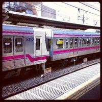 Photo taken at Keio Shimo-takaido Station (KO07) by Hiroki K. on 4/28/2013