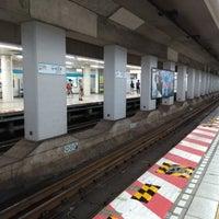 8/4/2018にHiroki K.が東西線 飯田橋駅 2番線ホームで撮った写真