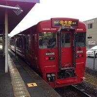 Photo taken at Kaku Station by Tatsuo Y. on 12/21/2013