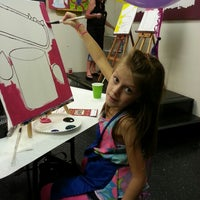 Photo taken at Painting with a Twist by Kimmie on 10/26/2013