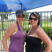 Photo taken at Bay Colony Pool by Kimmie on 7/2/2013