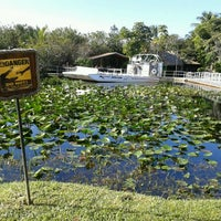 Photo taken at Everglades Safari Park by Yauheni S. on 12/24/2012