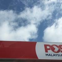 Photo taken at Pejabat Pos (Post Office) by Naim A. on 6/30/2017