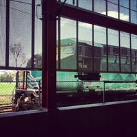 Photo taken at Tren Suburbano San Rafael by Esteban B. on 7/23/2013